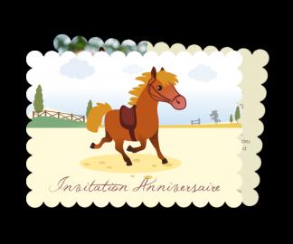 Texte invitation anniversaire poney