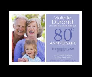 Modele Carte Invitation Anniversaire 80 Ans Gratuite Elevagequalitetouraine