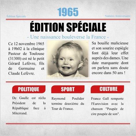 Exemple de carte d'invitation anniversaire 50 ans