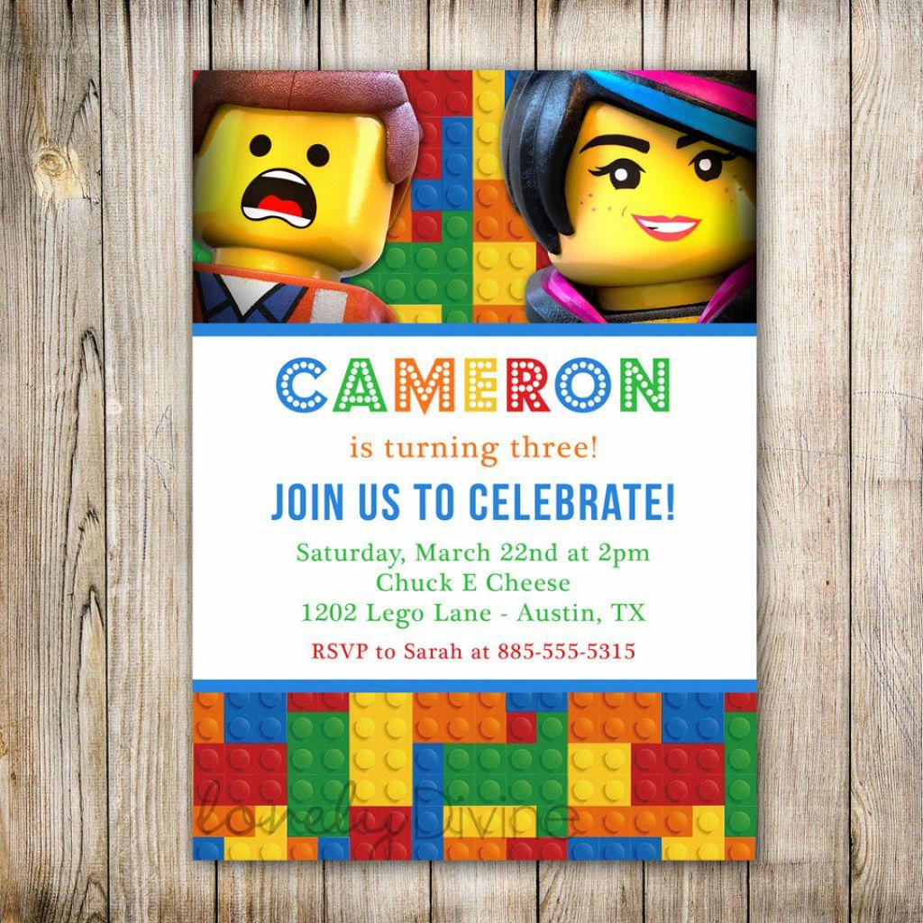 Carte Invitation Lego Anniversaire Elevagequalitetouraine