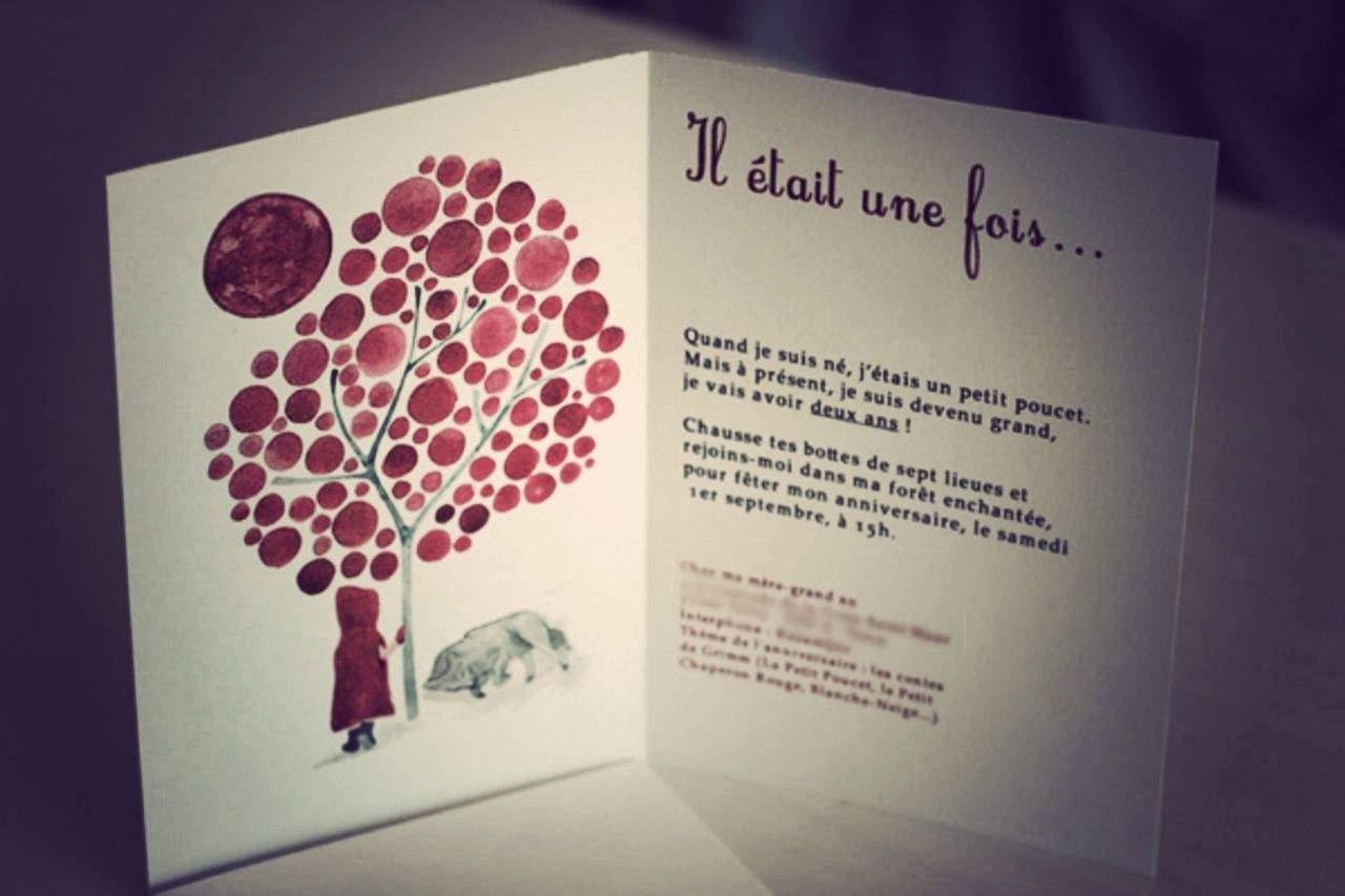 Texte invitation premier anniversaire fille