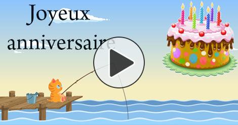 Carte virtuelle anniversaire 1 an