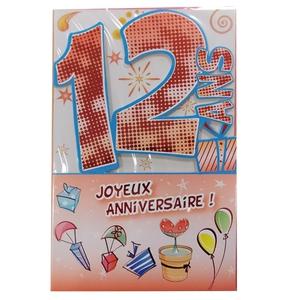 Texte anniversaire enfants 12 ans