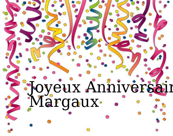 Carte anniversaire margaux