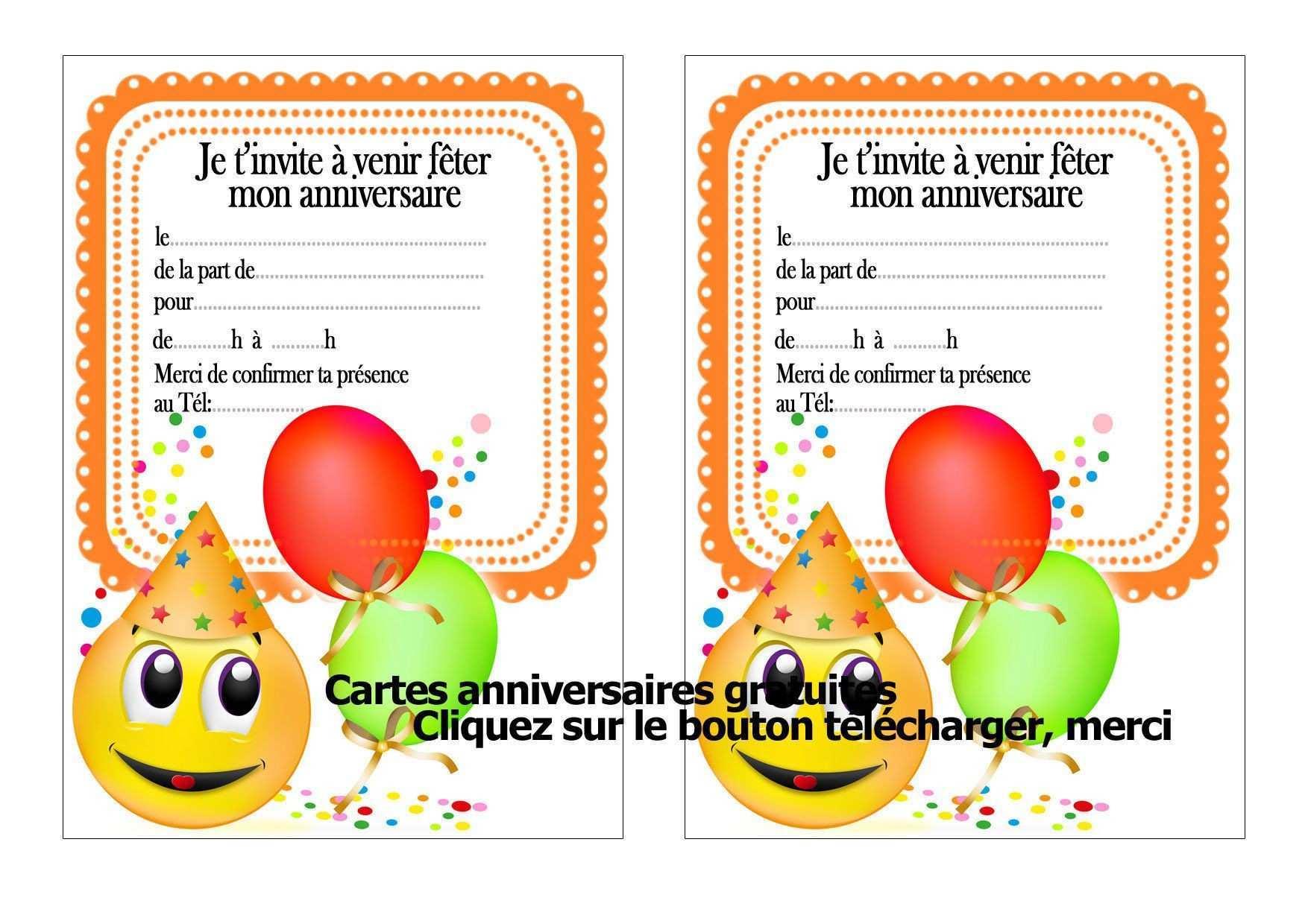 Carte Invitation Anniversaire Minion A Imprimer Gratuit Elevagequalitetouraine