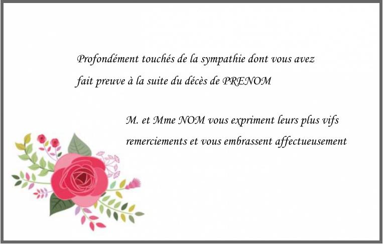 Modele Carte Remerciement Anniversaire Gratuite A Imprimer Elevagequalitetouraine