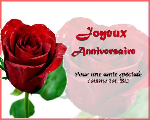 Carte Anniversaire Pour Une Amie Gratuite Elevagequalitetouraine