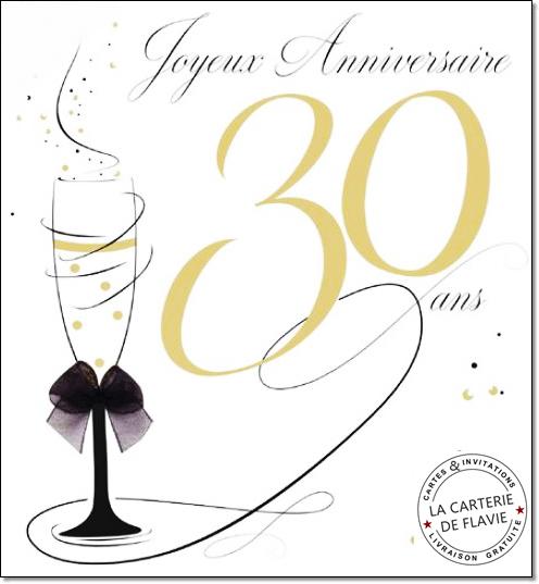 carte anniversaire 30 ans gratuite Texte anniversaire copine 30 ans   Elevagequalitetouraine