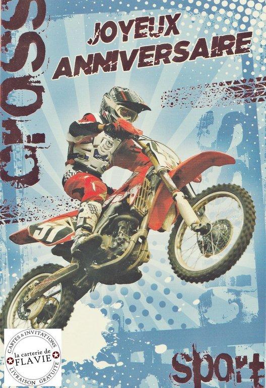 Joyeux Anniversaire Moto Carte Elevagequalitetouraine