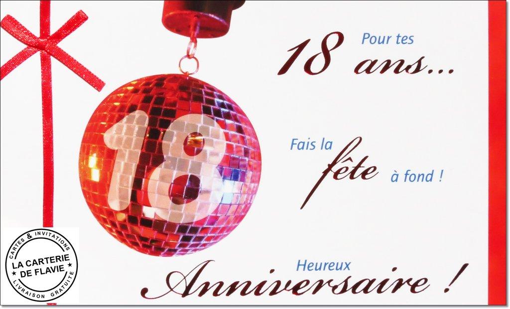 Carte D Invitation Anniversaire 18 Ans Fille Elevagequalitetouraine