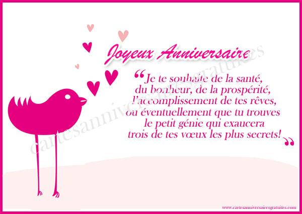 texte pour carte d anniversaire Petit mot pour carte d anniversaire   Elevagequalitetouraine