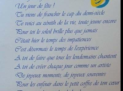 Texte Humoristique Anniversaire 50 Ans Homme Elevagequalitetouraine