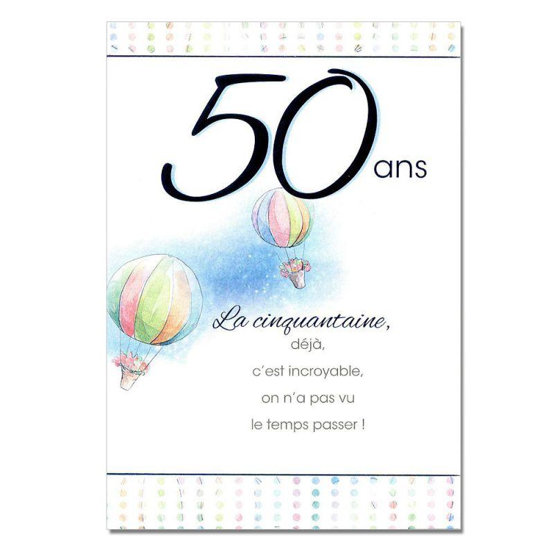 Texte d anniversaire 50 ans homme