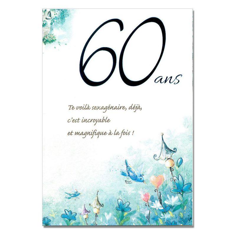 Texte joyeux anniversaire 60 ans homme