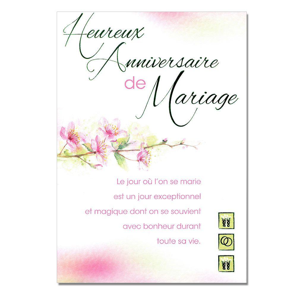 Carte de voeux anniversaire 50 ans de mariage