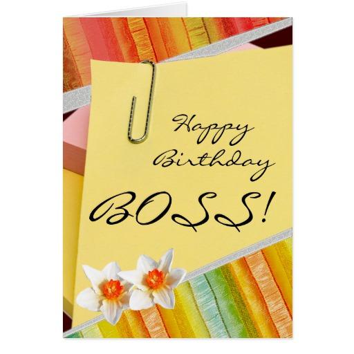 Texte voeux anniversaire patron