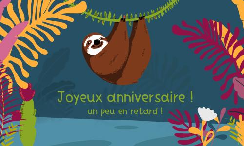 Cybercarte carte anniversaire