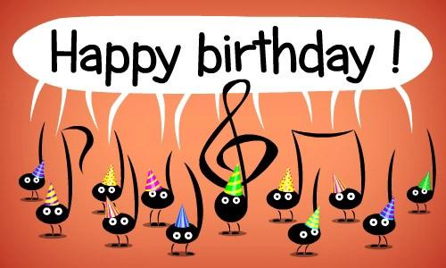 Carte anniversaire à poster sur facebook