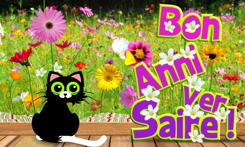 Carte anniversaire animée animaux gratuite