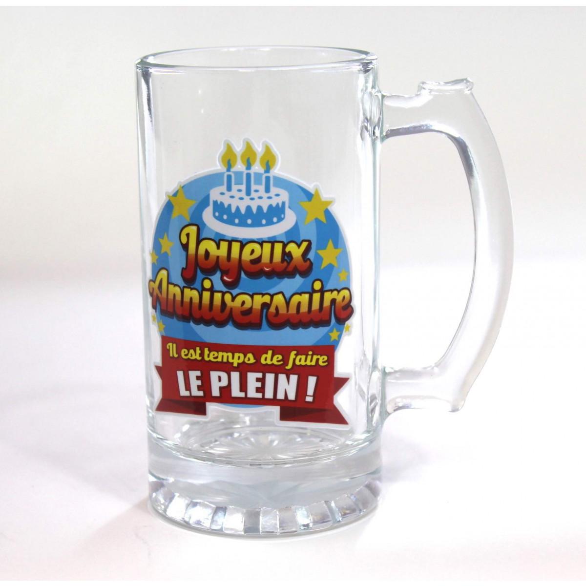Texte anniversaire humoristique biere