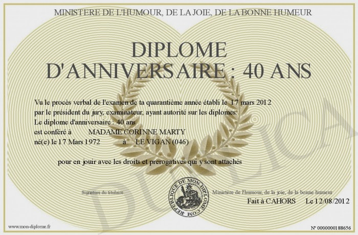 Texte De Carte Anniversaire 40 Ans Elevagequalitetouraine