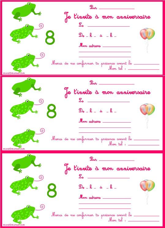 Carte De Anniversaire Pour Fille De 8 Ans Elevagequalitetouraine