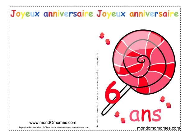 Carte Anniversaire 10 Ans Imprimer Elevagequalitetouraine