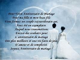 Texte anniversaire de mariage pour sa fille