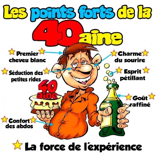 Carte Anniversaire 40 Ans Homme Humour A Imprimer Elevagequalitetouraine