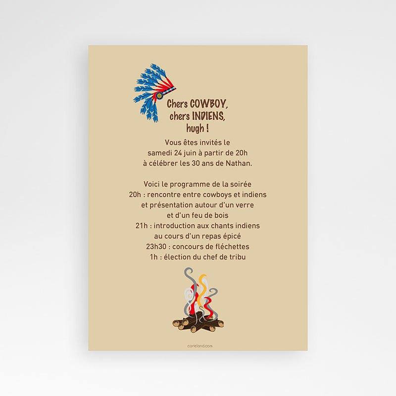 Texte pour invitation anniversaire western