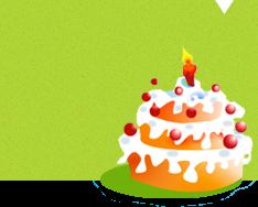 La carte anniversaire