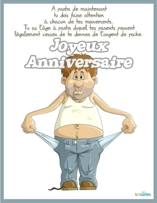 Carte Anniversaire 30 Ans Humoristique A Imprimer Elevagequalitetouraine