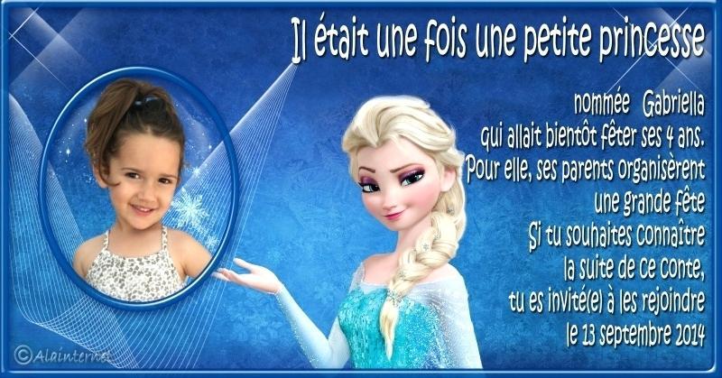 Carte Virtuelle Anniversaire La Reine Des Neiges Elevagequalitetouraine
