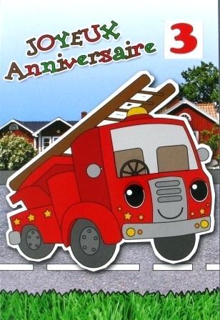 Carte anniversaire virtuelle tracteur