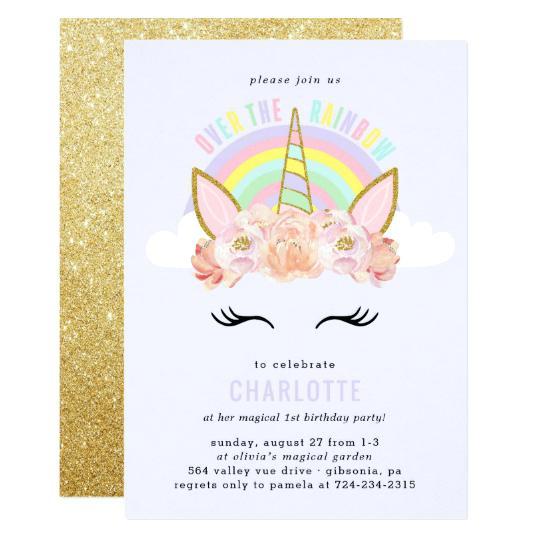 Carte D Invitation Anniversaire Gratuite Licorne Elevagequalitetouraine