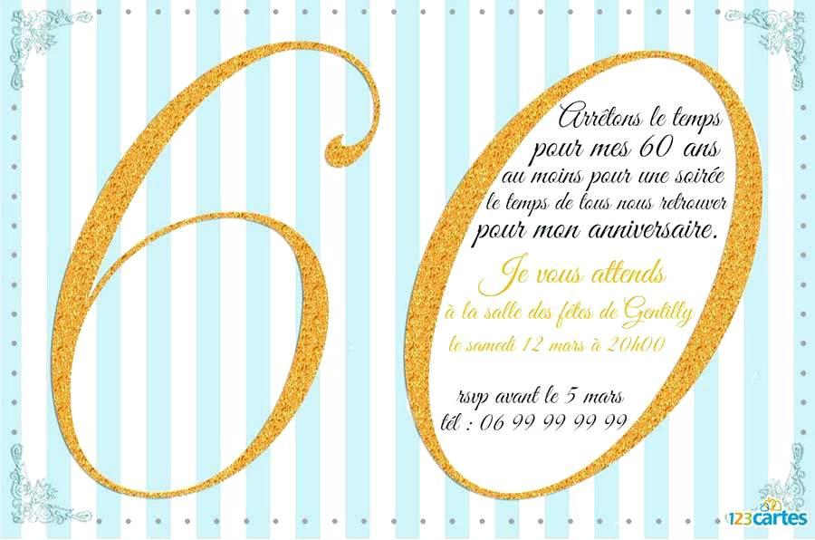 Texte invitation anniversaire 60 ans femme gratuit