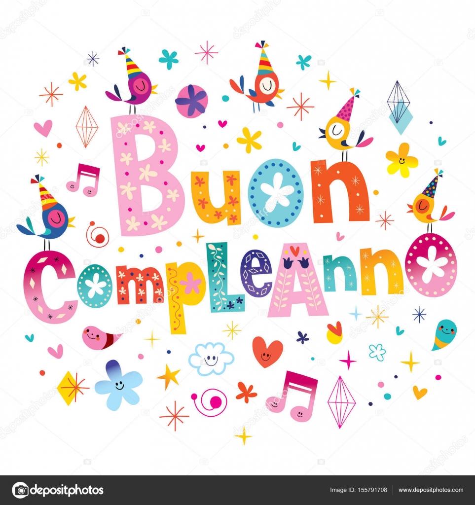 Texte pour anniversaire en italien