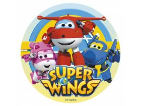 Carte anniversaire super wings
