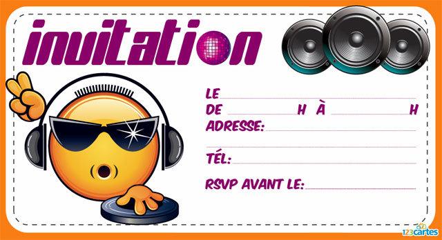 Carte D Invitation Anniversaire Gratuite A Imprimer Elevagequalitetouraine