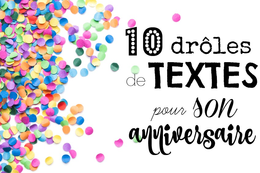 Message anniversaire petite fille 10 ans