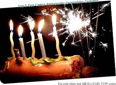 Carte anniversaire animees musicales