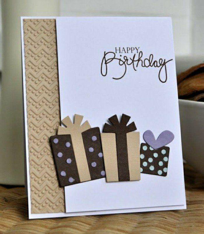 Carte anniversaire papier personnalisable