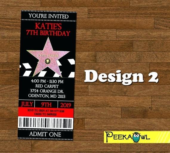 Carte invitation anniversaire fff