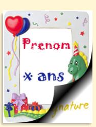 Imprimer carte anniversaire 2 ans