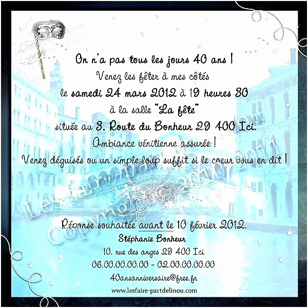 Idee Texte Carte Anniversaire 40 Ans Elevagequalitetouraine