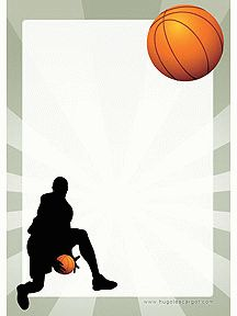 Carte anniversaire basket ball