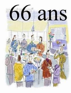 Texte anniversaire 66 ans homme