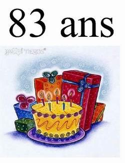 Texte anniversaire 96 ans