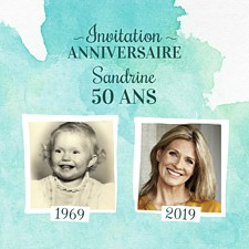 Texte sms invitation anniversaire 50 ans