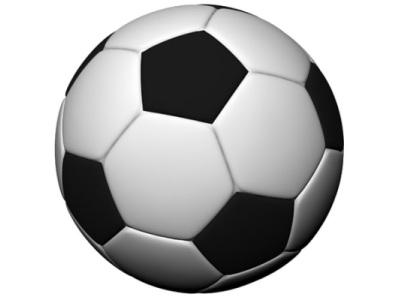 Carte anniversaire terrain de foot